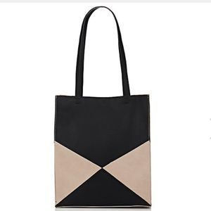 Barneys New York Colorblocked Tote Bag